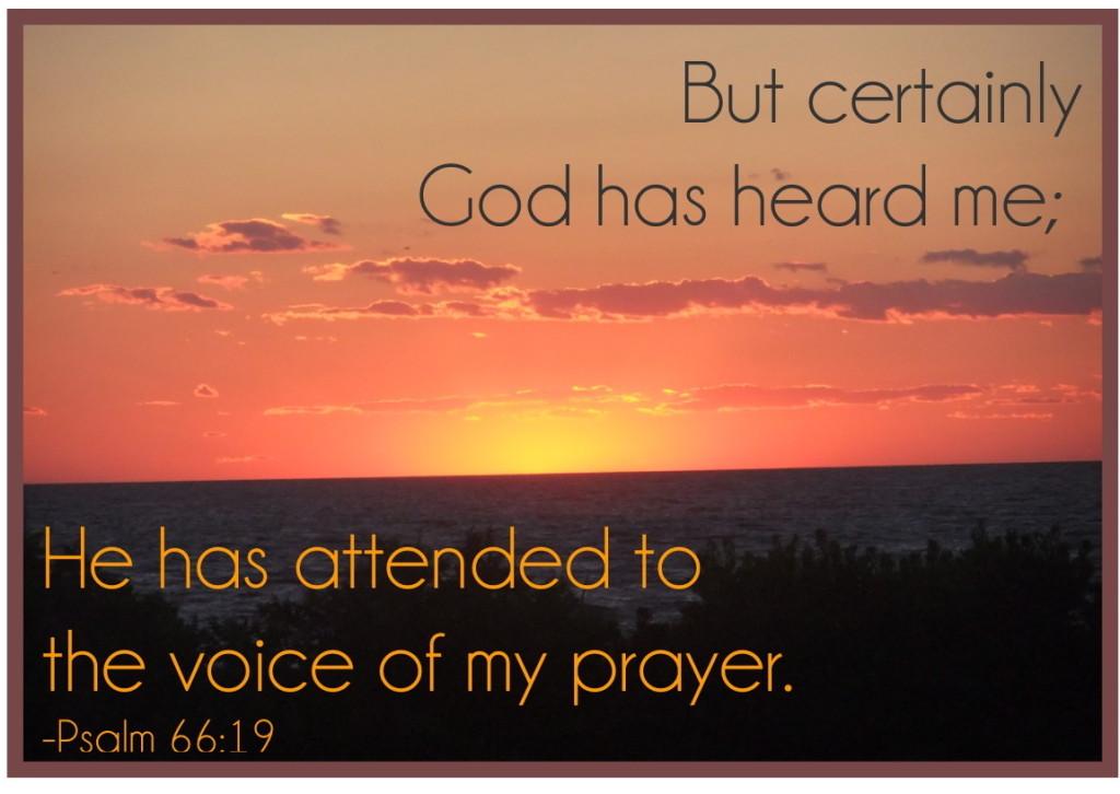 Psalm 66:19